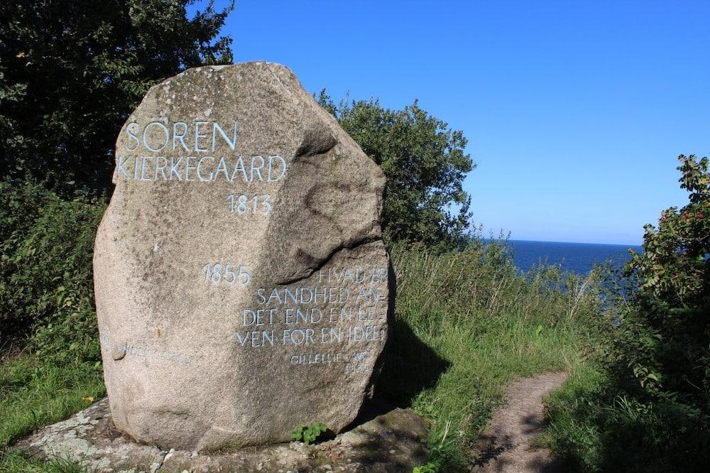 Søren Kierkegaard stenen