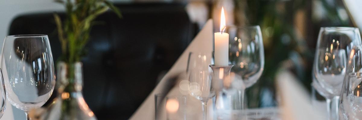 Menukort restaurant