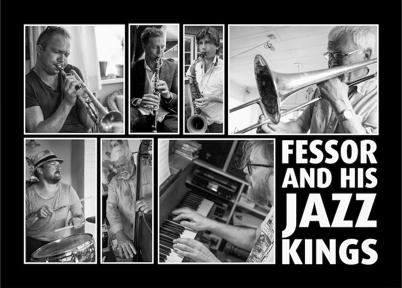 Fessor and his Jazz Kings på Hotel Gilleleje Strand