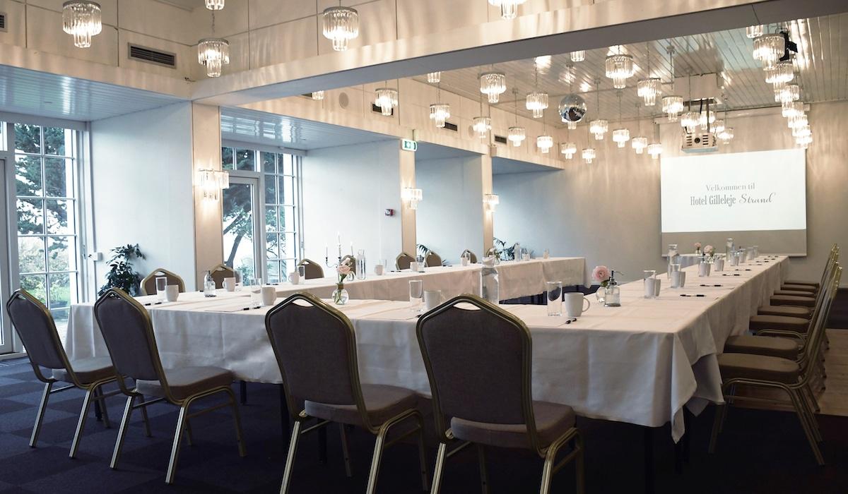 Mødelokale på Hotel Gilleleje Strand