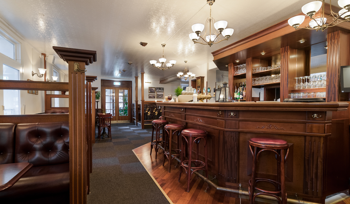 Pub på Hotel Gilleleje Strand